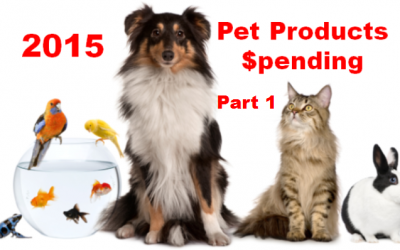 2015 Pet Products Spending was $44.4B- Where does it come from?