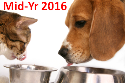 U.S. Pet Food Spending $28.6B (↑$1.94B): Mid-Year 2016 Update