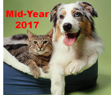 U.S. PET SUPPLIES SPENDING $17.43B (↑$2.59B): MID-YR 2017 UPDATE