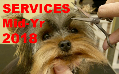 U.S. Pet Services Spending (Non-Vet) $7.87B (↑$1.3B): 2018 Mid-Yr Update